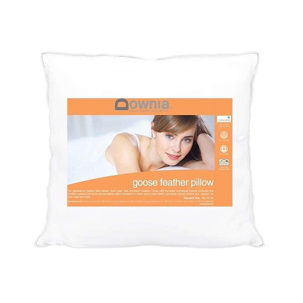Downia Goose Feather European Pillow