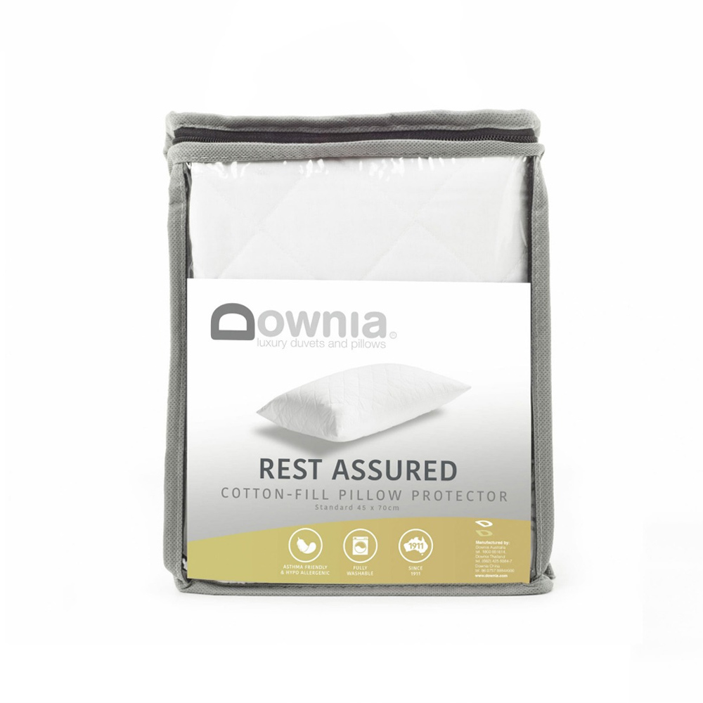 Downia Cotton Pillow Protector