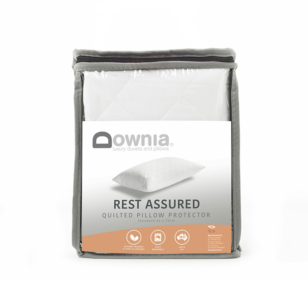 Downia 80gsm Quilted Pillow Protector