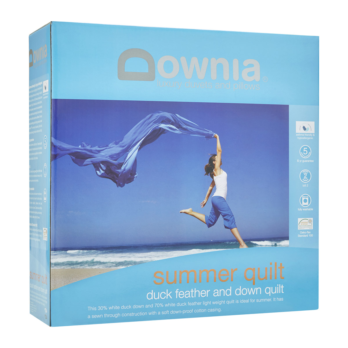 Downia Summer Lightweight Duck Feather and Down Quilt