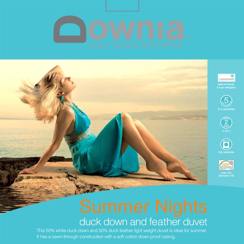 Downia Summer Nights 50/50 Duck Down and Feather Duvet