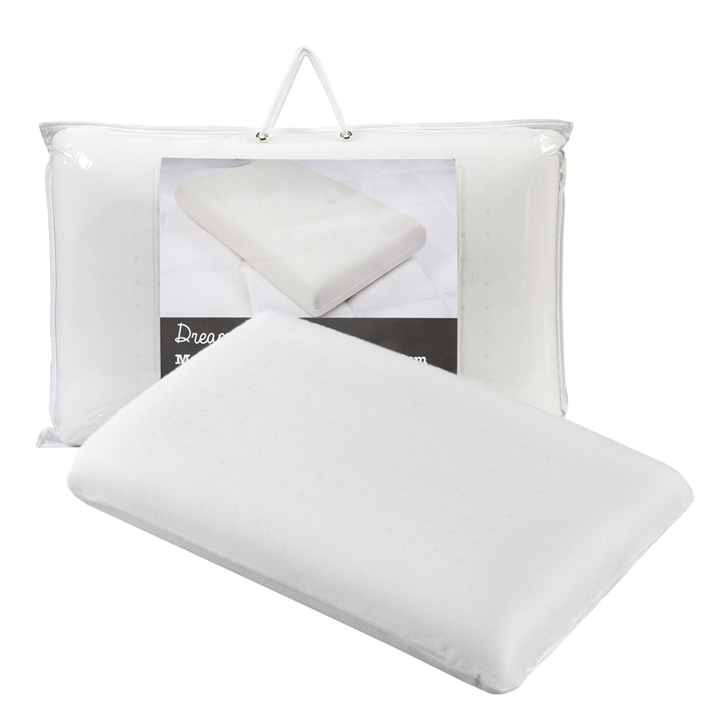 Dreamaker Firm Ventilated Memory Foam Pillow