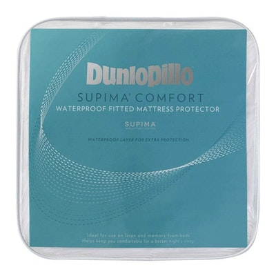 Dunlopillo Supima 100% Quilted Cotton Waterproof Mattress Protector