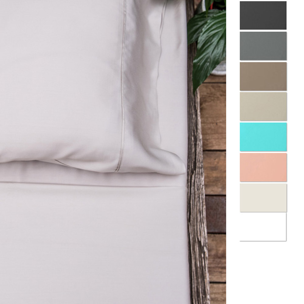 Eastwind Twill Organic Bamboo Bed Sheet Set