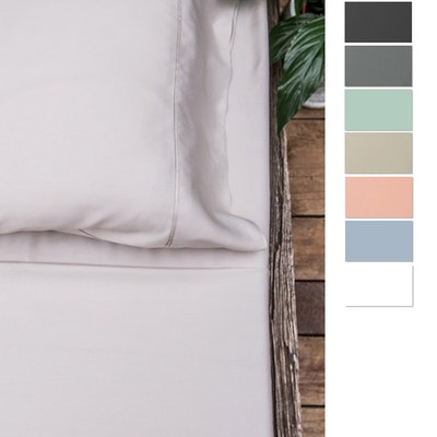 Eastwind Twill Organic Bamboo Bed Sheet Set in colours new