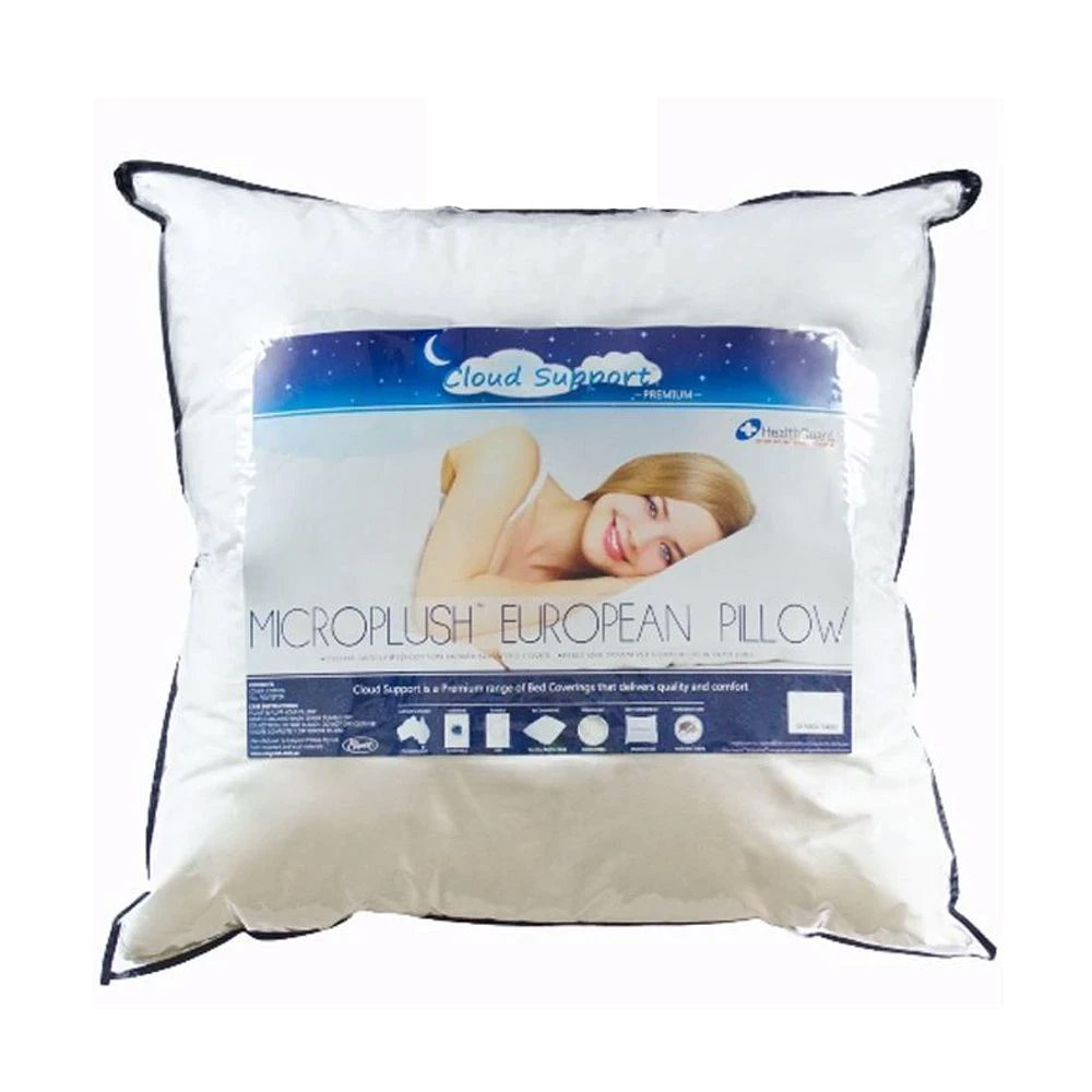 Easyrest Cloud Support Microplush European Size Pillow