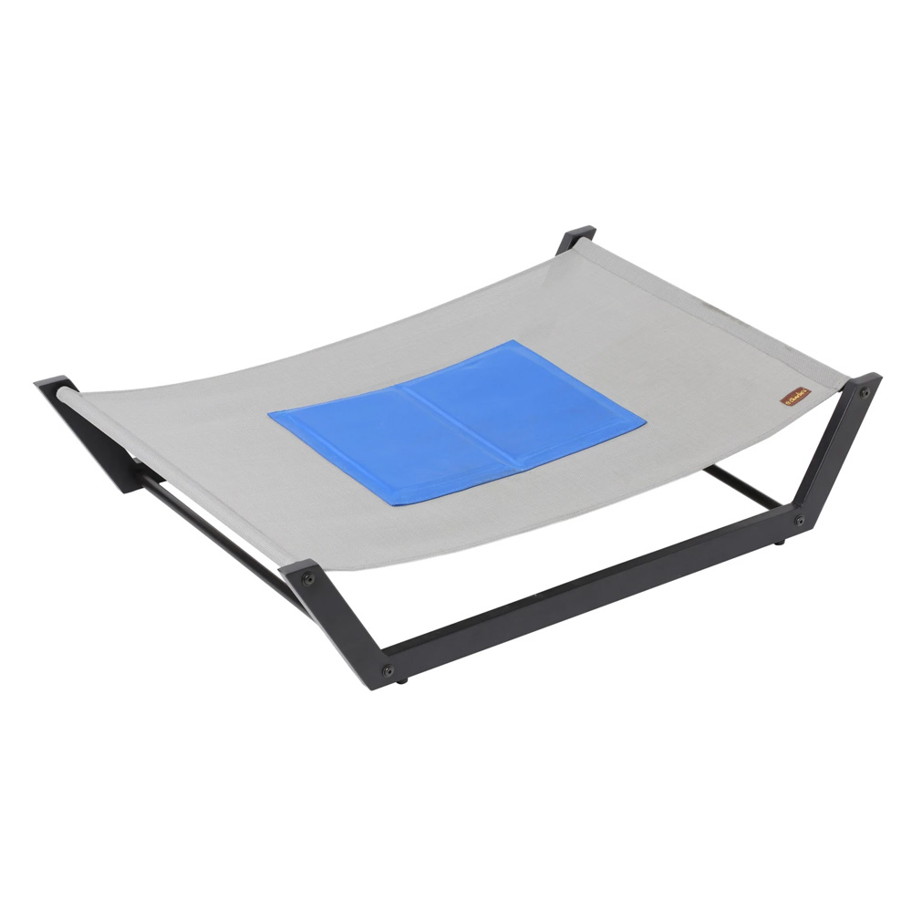 Charlie's Pet Elevated Trampoline With Gel Cooling Mat