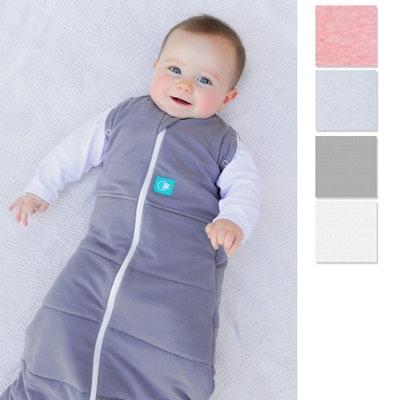 ErgoCocoon Organic Winter Baby Swaddle and Sleep Bag 2.5 Tog