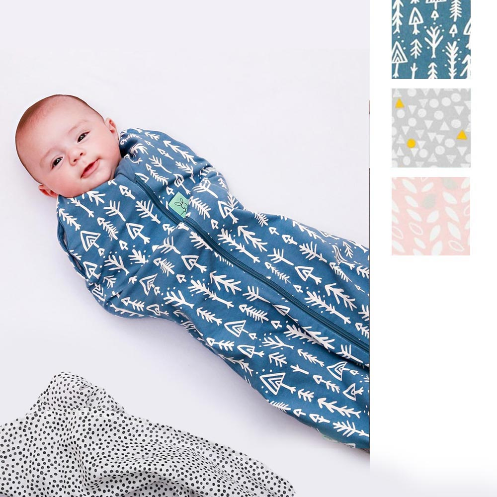 ergoPouch Cocoon Swaddle and Sleep Bag 1 Tog