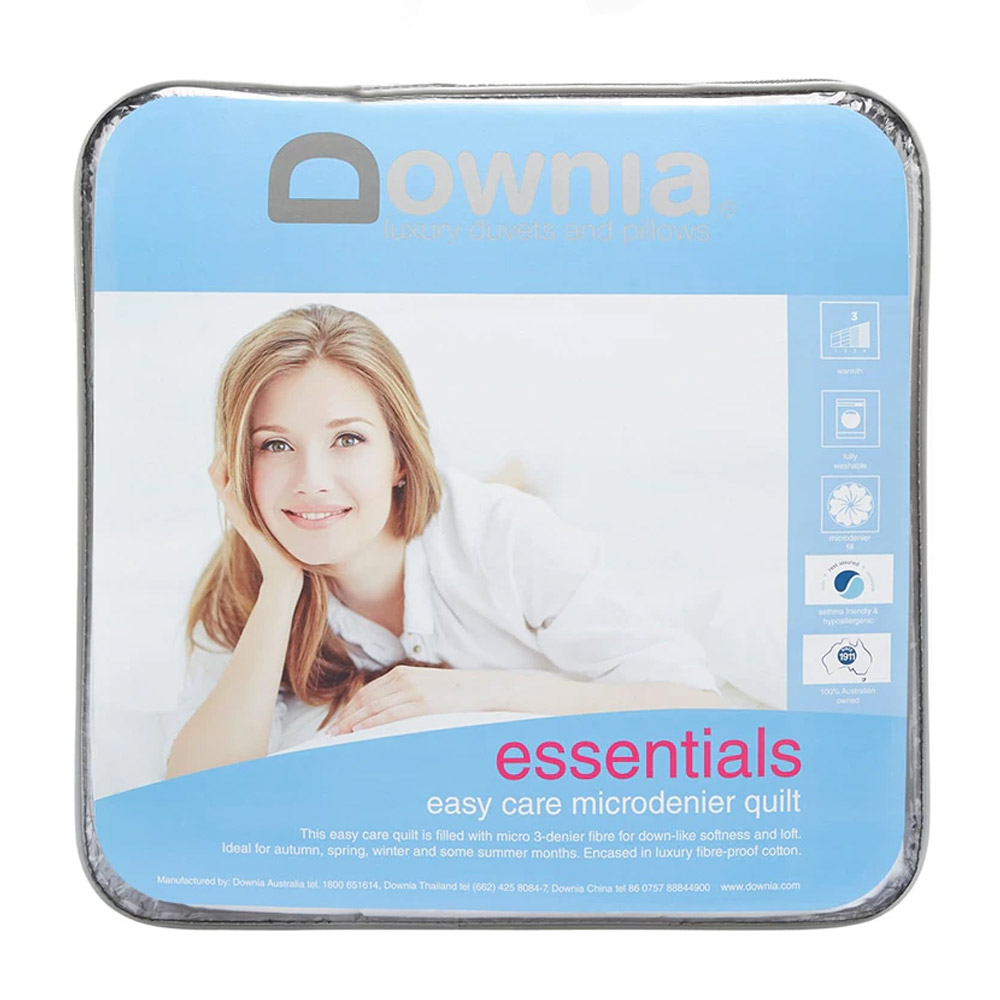 Downia Essentials Easy Care Microdenier Quilt