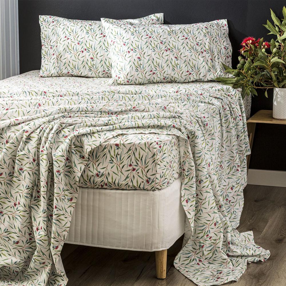 Park Avenue Eucalyptus Egyptian Cotton Flannelette Sheet Set