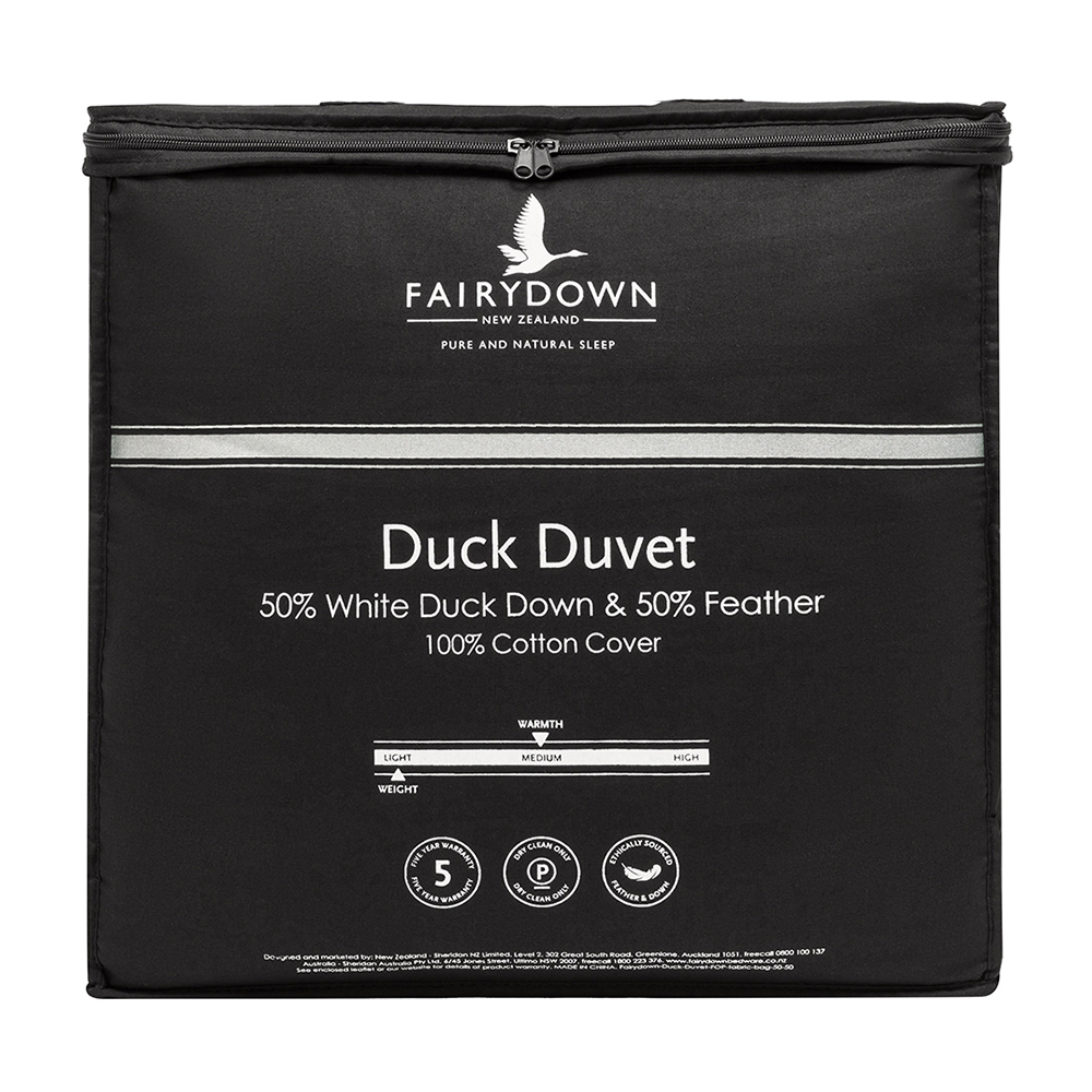 Fairydown 50% White Duck Down Quilt Duvet