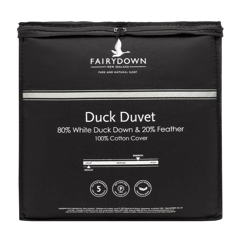 Fairydown 80% White Duck Down Quilt Duvet