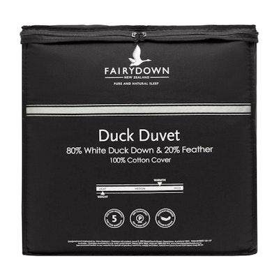 Fairydown 80% White Duck Down Quilt Duvet Packaging