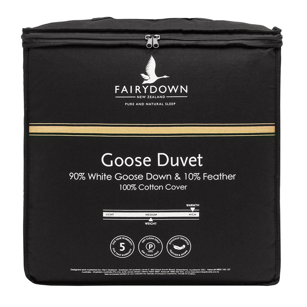 Fairydown 90% White Goose Down Quilt Duvet