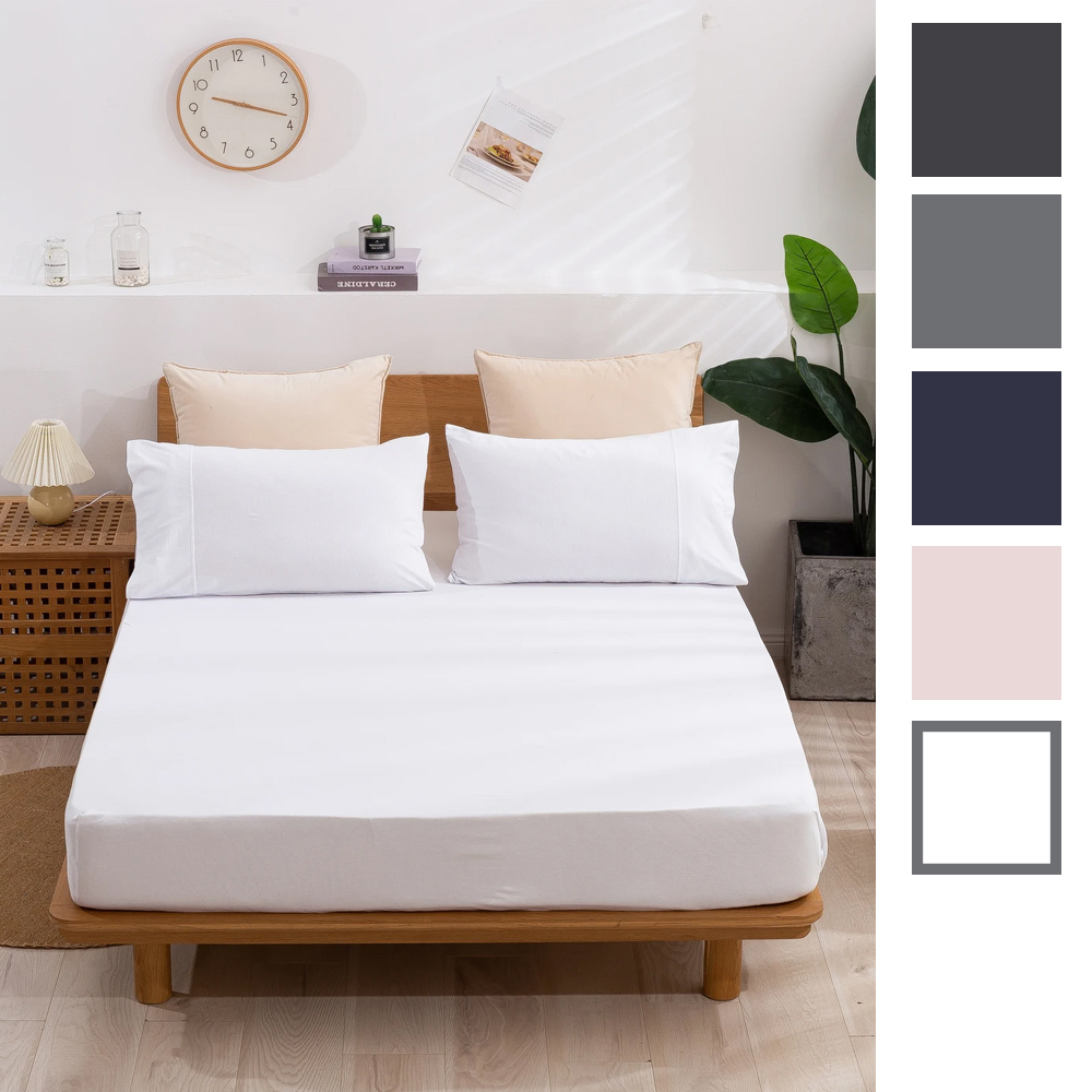 Dreamaker Cotton Jersey Fitted Sheet
