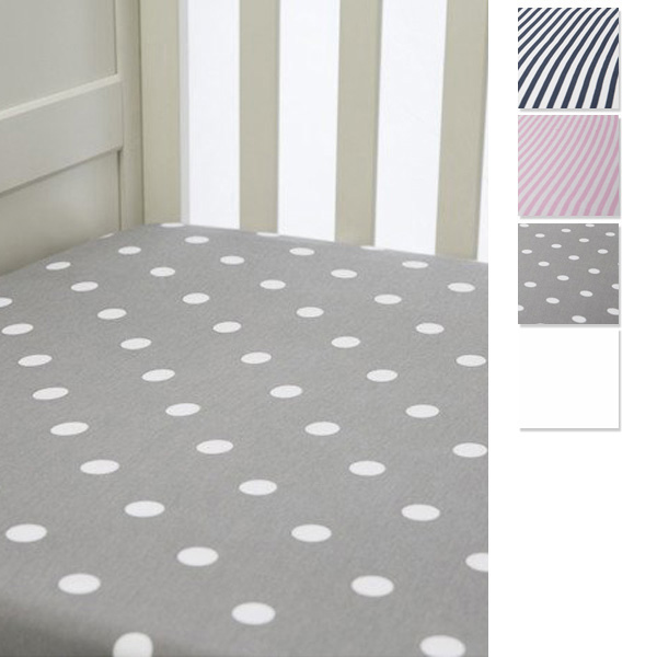 Lil Fraser Collection Baby Fitted Cot Sheet