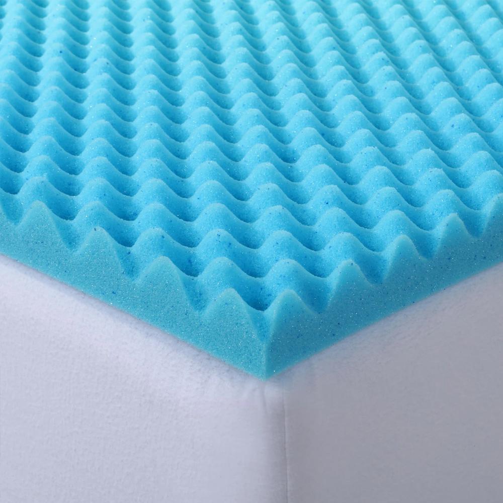 Dreamaker Gel Infused Convoluted Cool Memory Foam Underlay