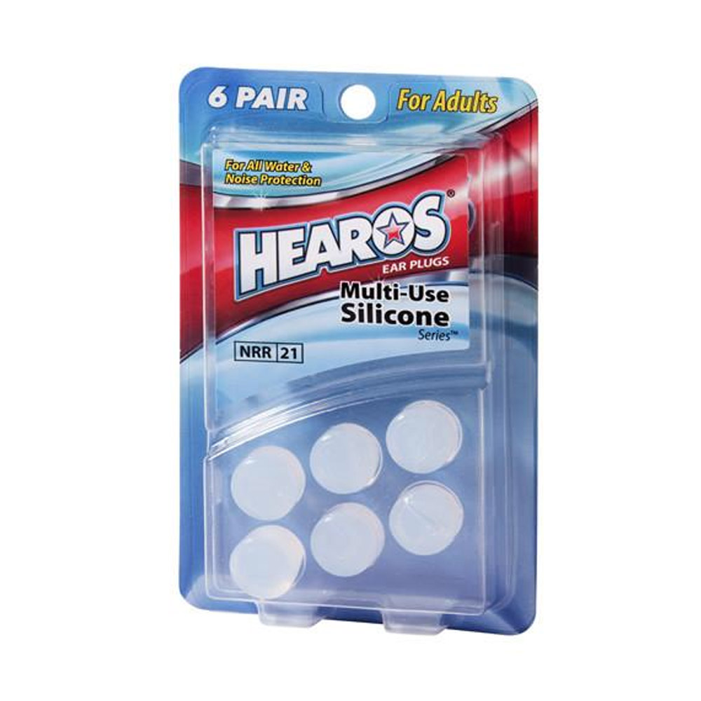 HEAROS Multi-Use Adult Moldable Silicone Ear Plugs