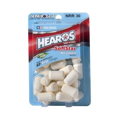 Hearos SoftStar NexGen Series Foam Ear Plugs