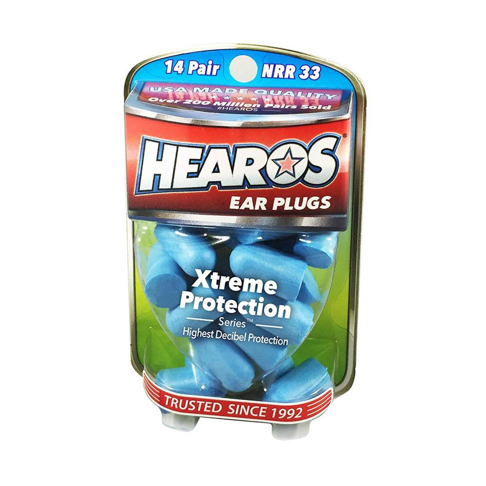 HEAROS Xtreme Protection Series Foam Ear Plugs