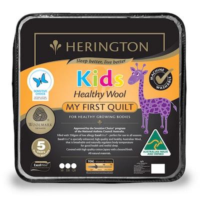 Herington My First Quilt Healthy Wool Kids Quilt
