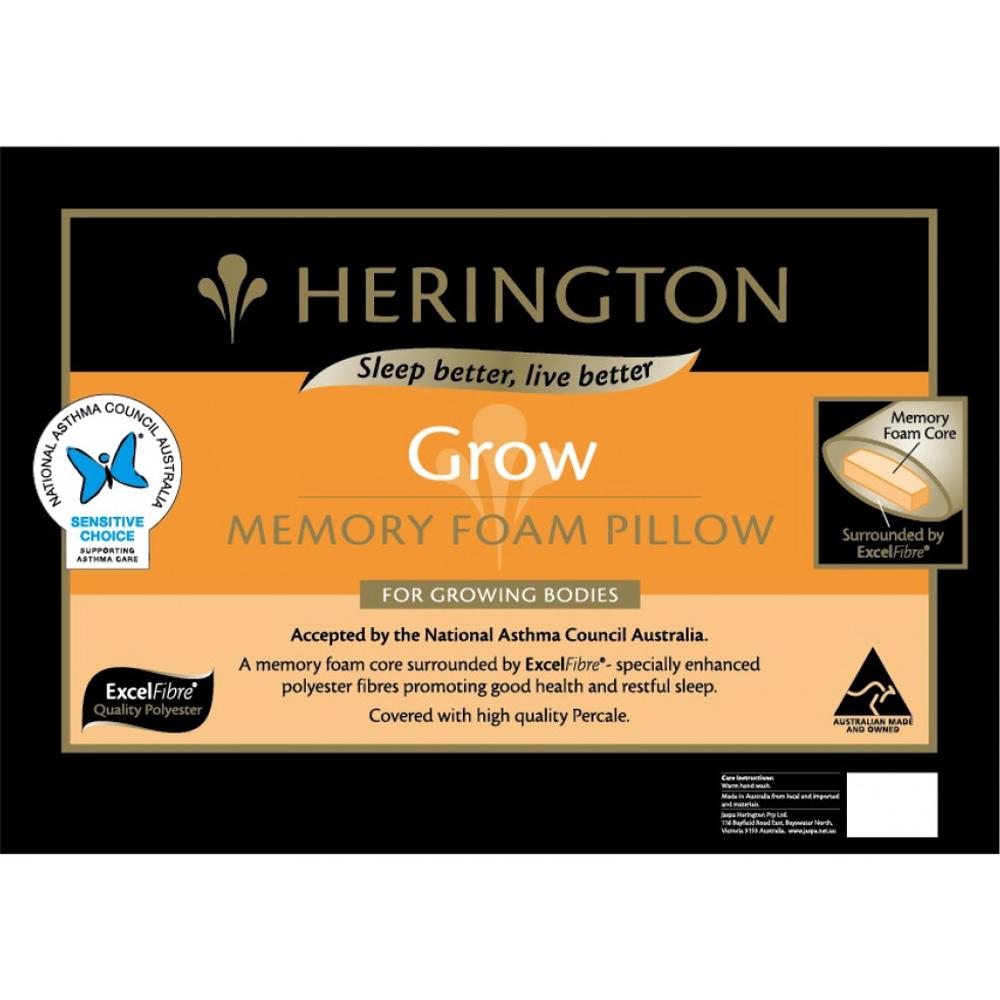 Herington Grow Memory Foam Pillow