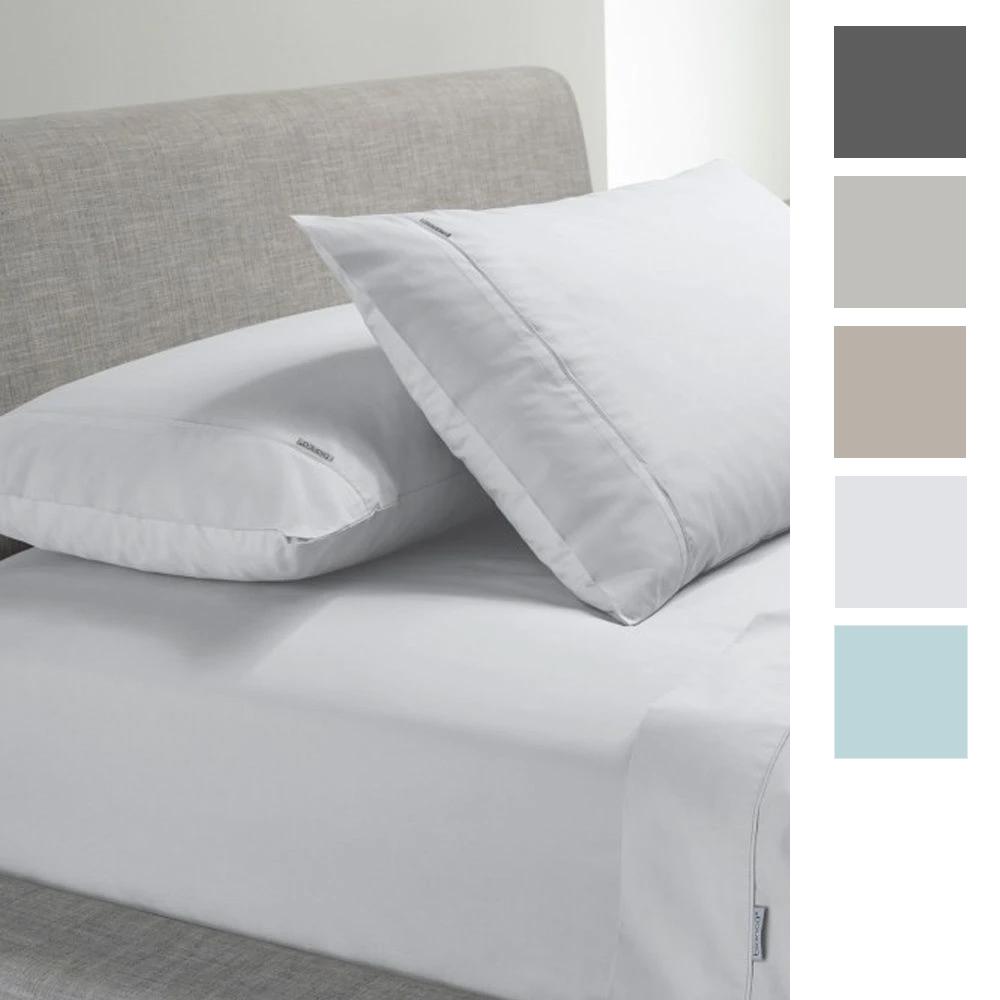Bianca Heston 300 Thread Count Cotton Percale Sheet Set