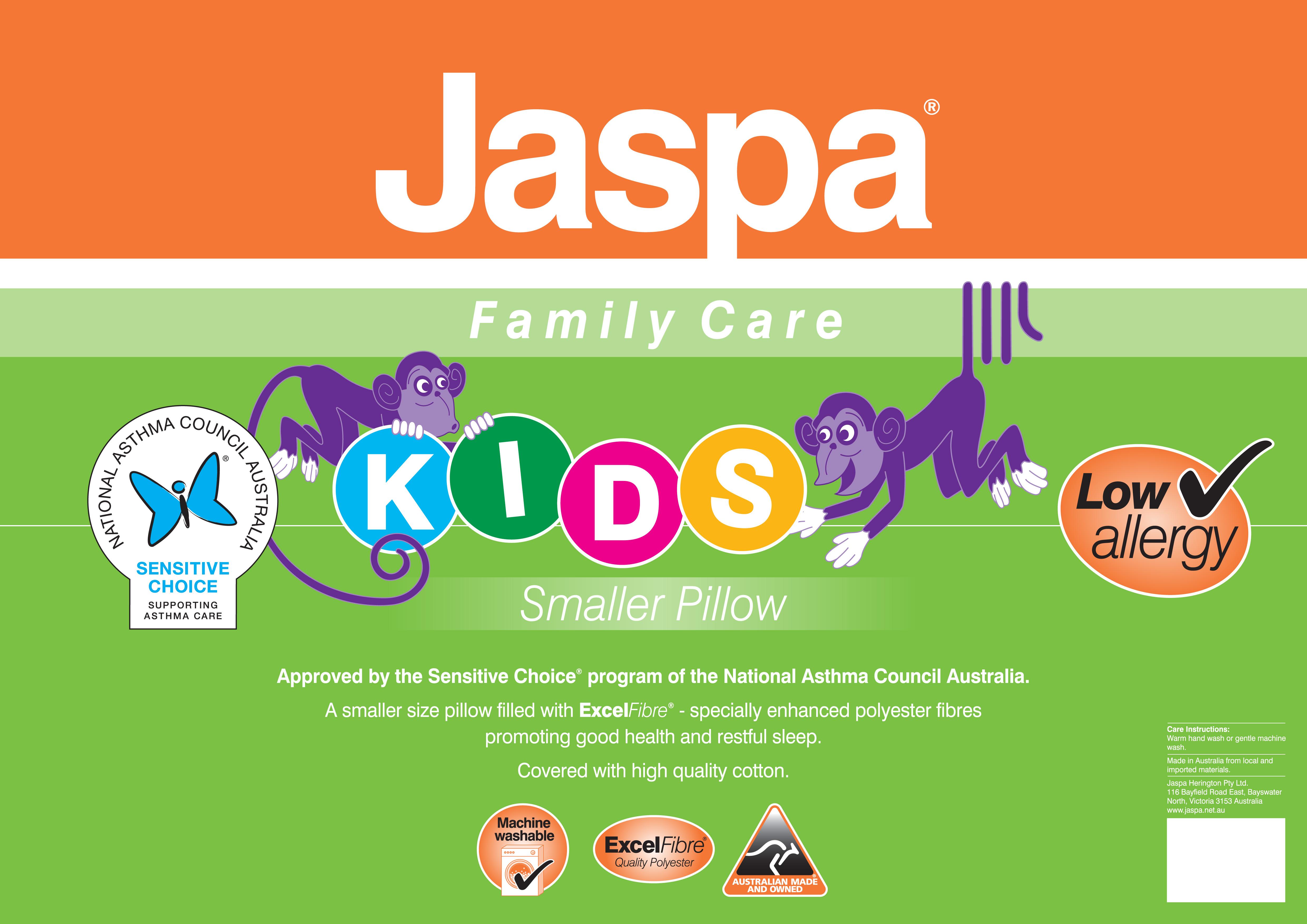 Jaspa Family Care Asthma Friendly Kids Pillow