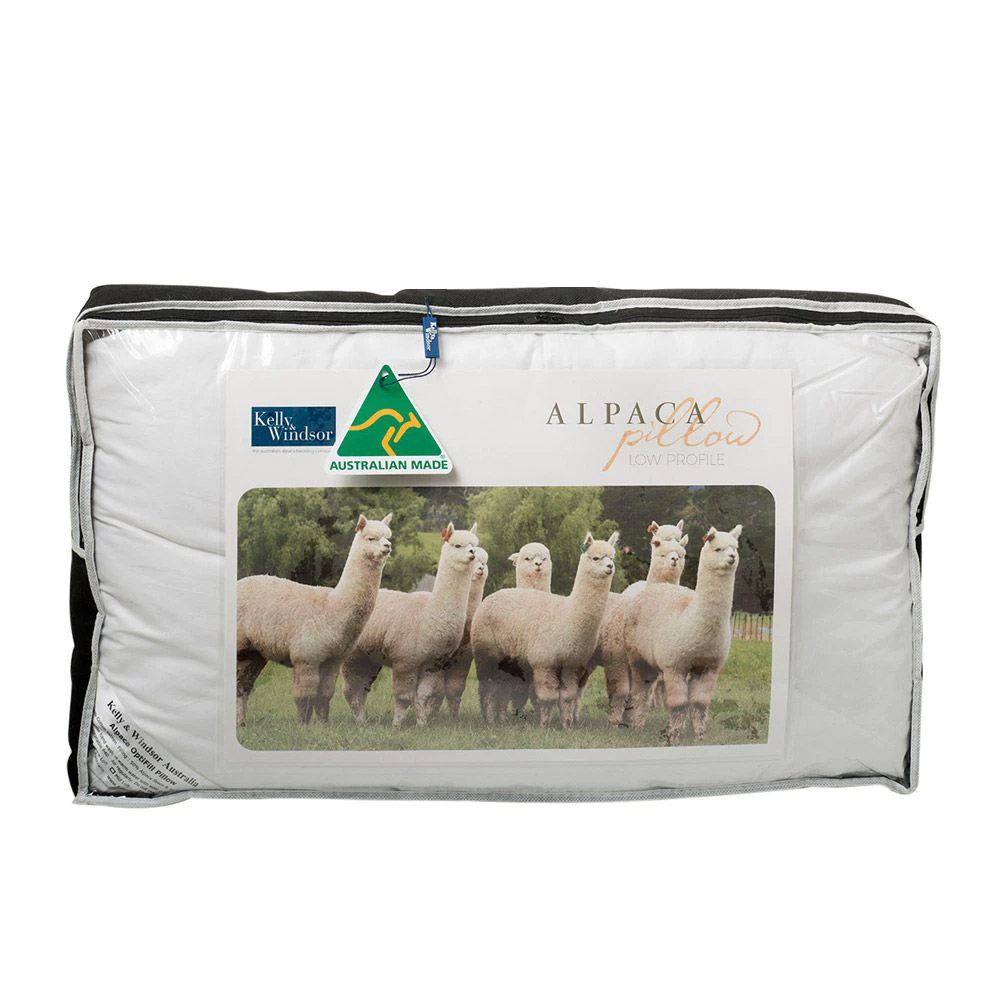 Kelly and Windsor OptiFill Alpaca Pillow