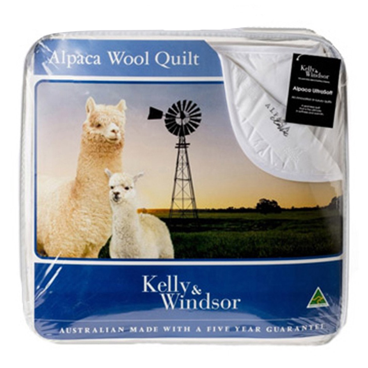 Kelly and Windsor Classic Blend Alpaca Wool Quilt