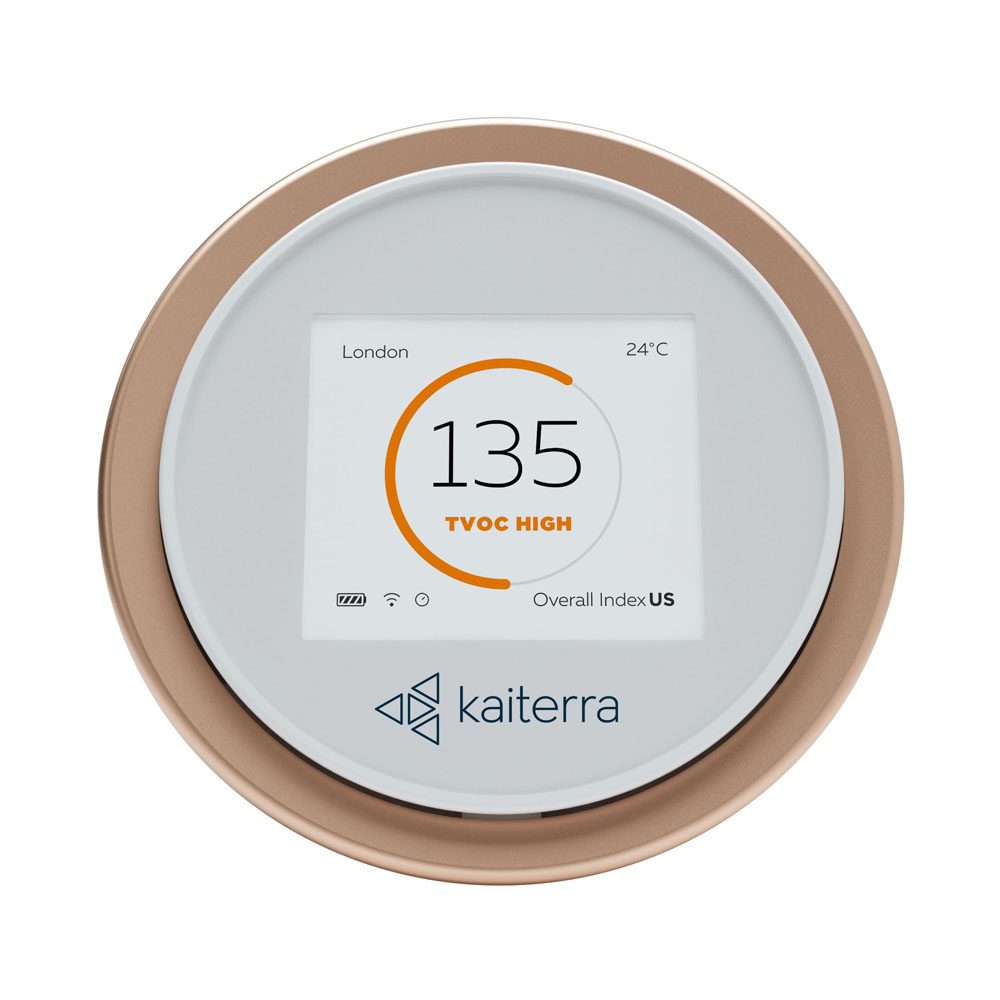 Kaiterra Laser Egg Particle and Chemical Air Quality Monitor