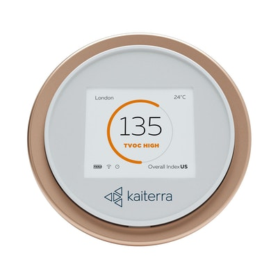 Kaiterra Laser Egg Particle and Chemical Air Quality Monitor Front View