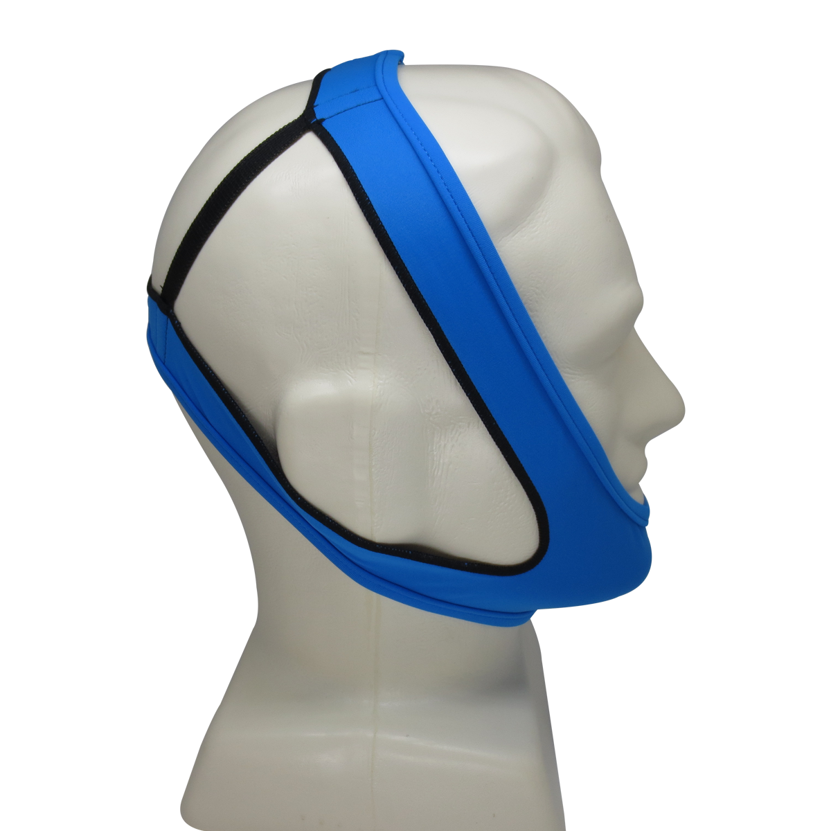 Light Blue Anti Snoring Chin Strap