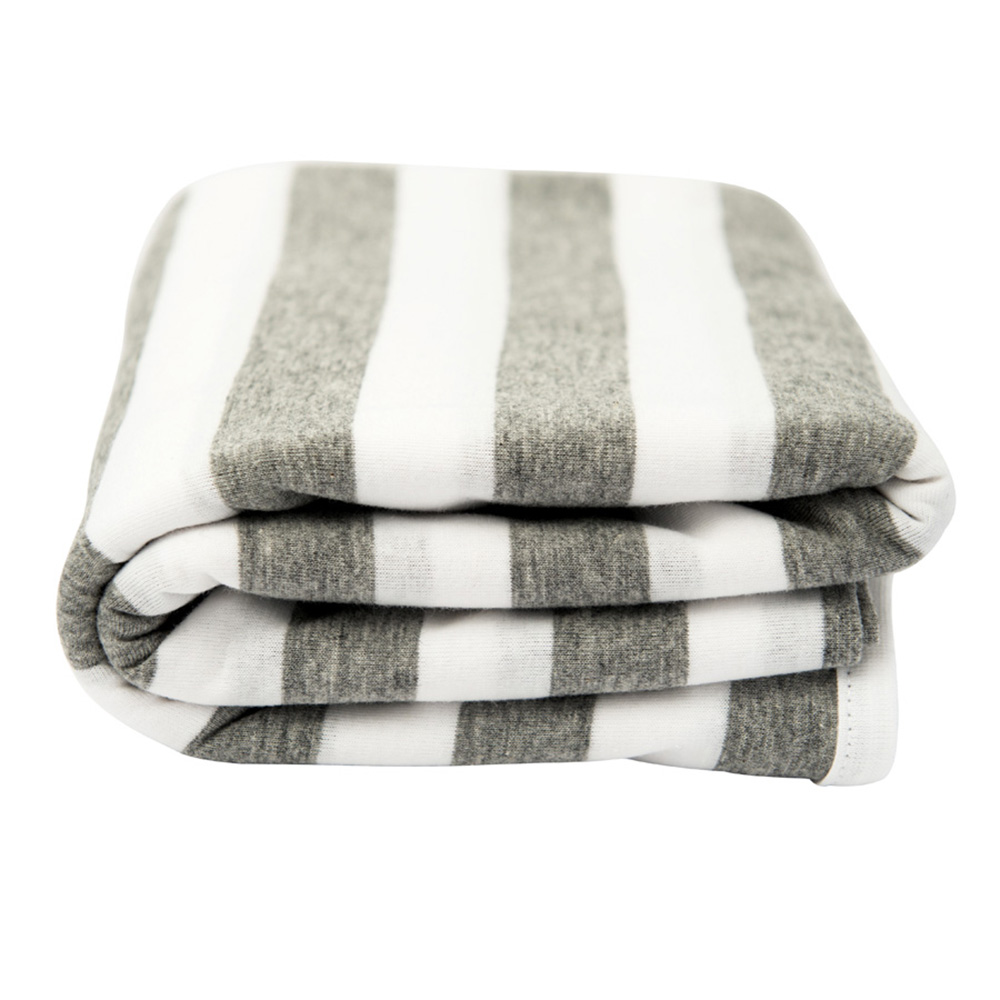 Lil Fraser Collection Bailey Baby Wrap Grey and White