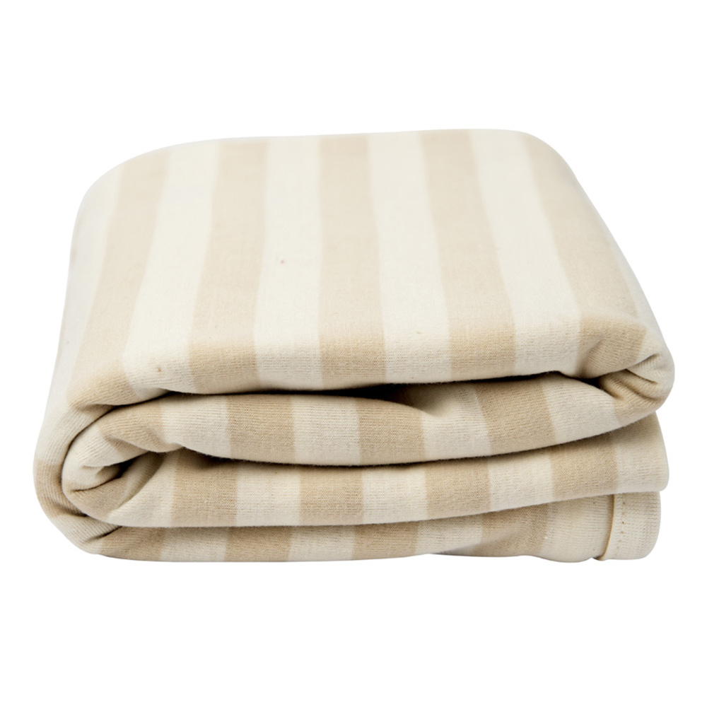 Lil Fraser Collection Charlotte Baby Wrap Taupe and Cream