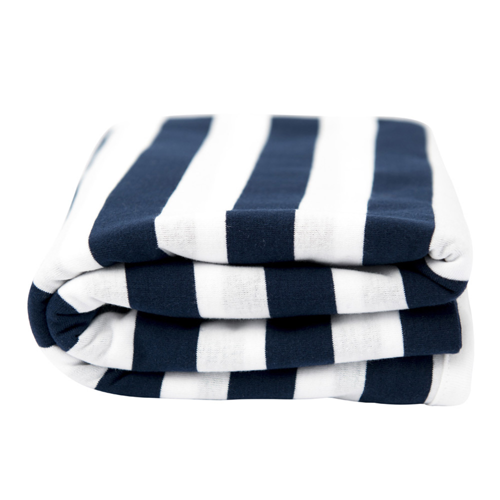 Lil Fraser Collection Cooper Baby Wrap Navy and White