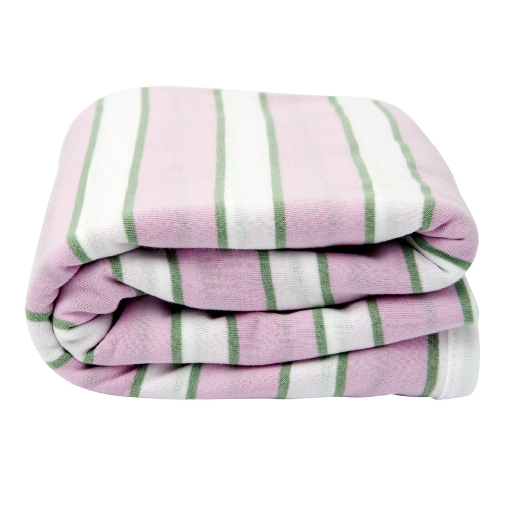Lil Fraser Collection Indiana Baby Wrap Pink White and Sage