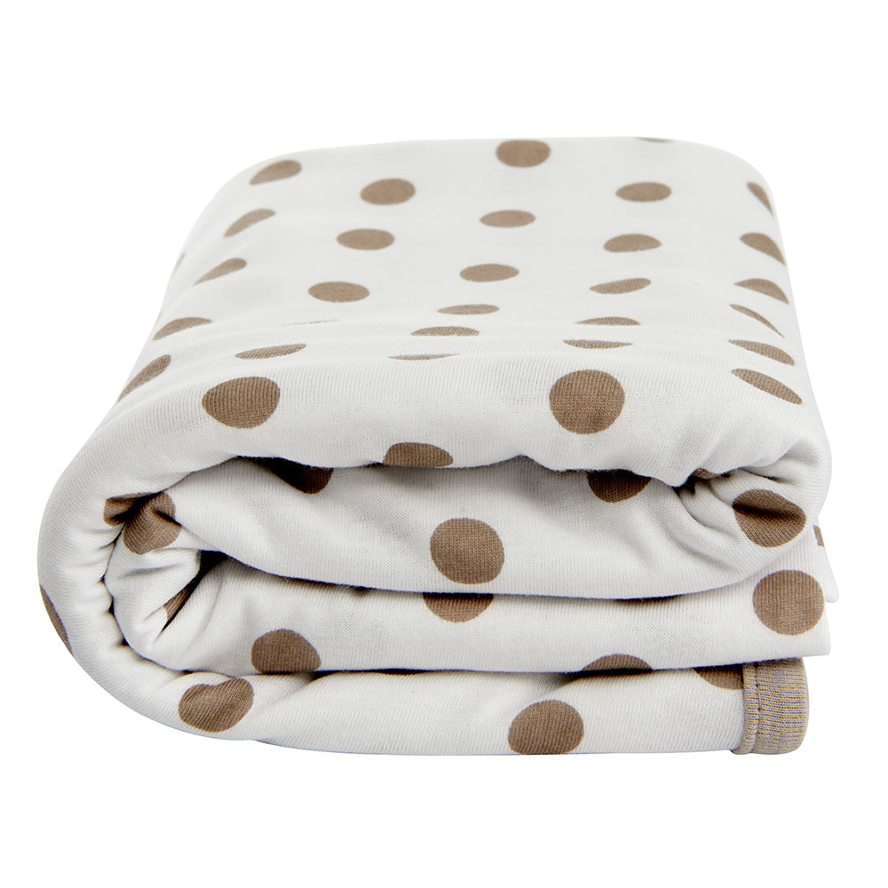 Lil Fraser Collection Jamie Baby Wrap White and Taupe