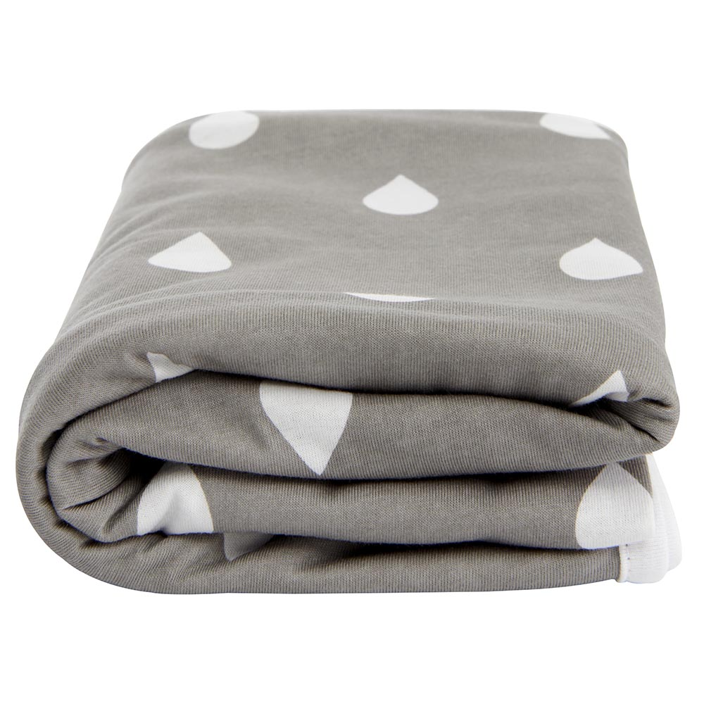 Lil Fraser Collection Jessie Baby Wrap Grey and White