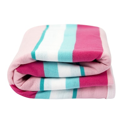 Lil Fraser Collection Tiggy Baby Wrap Multi Stripe