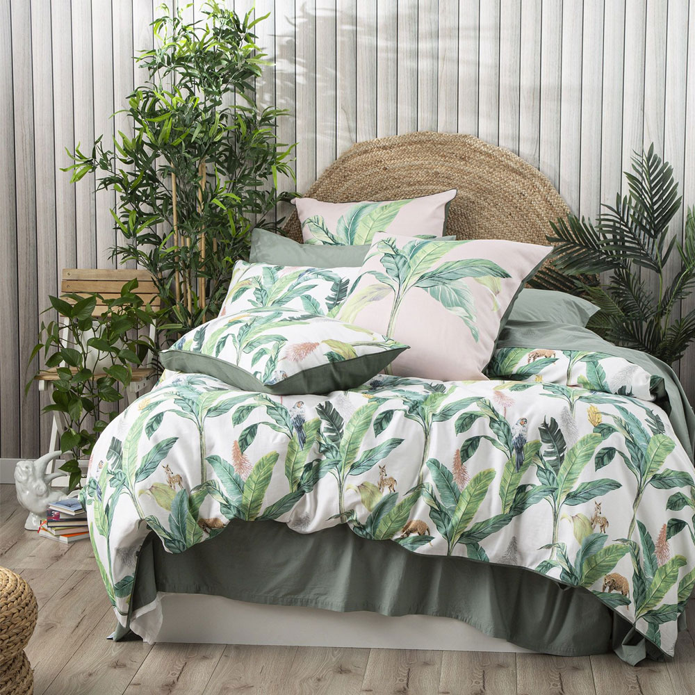 Renee Taylor Livia 300 Thread Count Cotton Quilt Cover Set