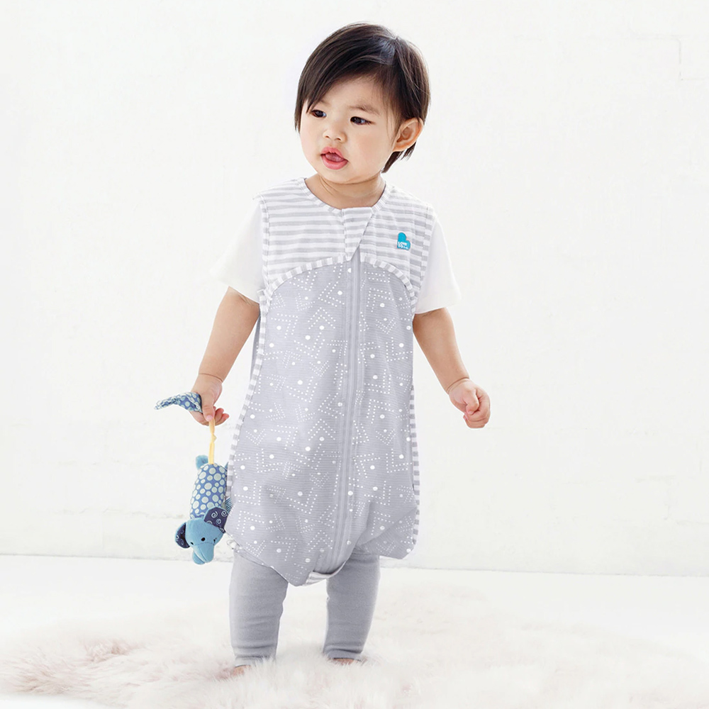 Love to Dream Spots and Arrows Sleep Suit 0.2 Tog