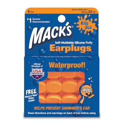 Mack's Moldable Kids Size Silicone Ear Plugs Main Image