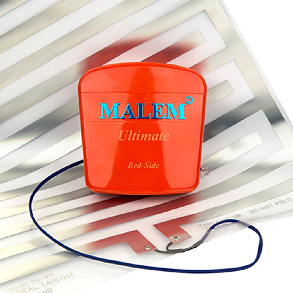 Malem Ultimate Bedside Bedwetting Alarm with Sensor Mat