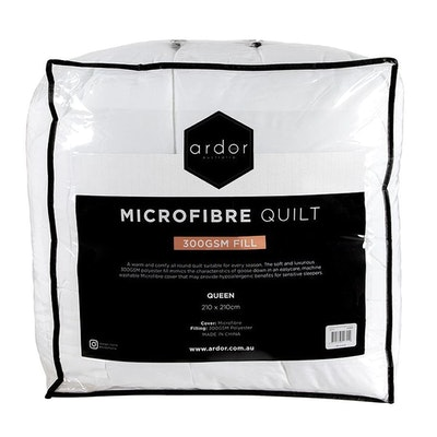 Ardor Home Microfibre Quilt 300 GSM New Packaging