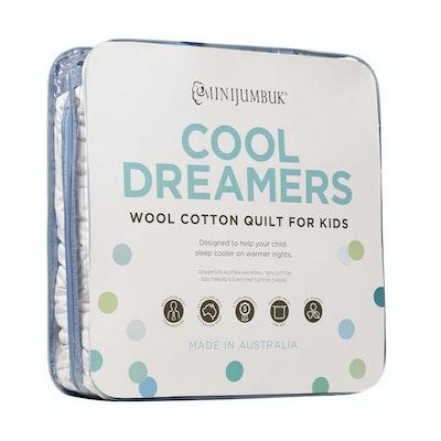 MiniJumbuk Cool Dreamers Kids Wool Cotton Kids Quilt