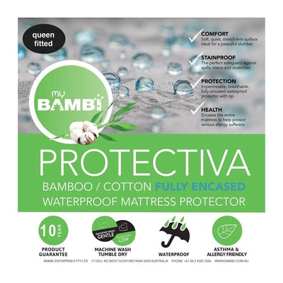 Bambi Protectiva Waterproof Encasement Mattress Protector Thumbnail