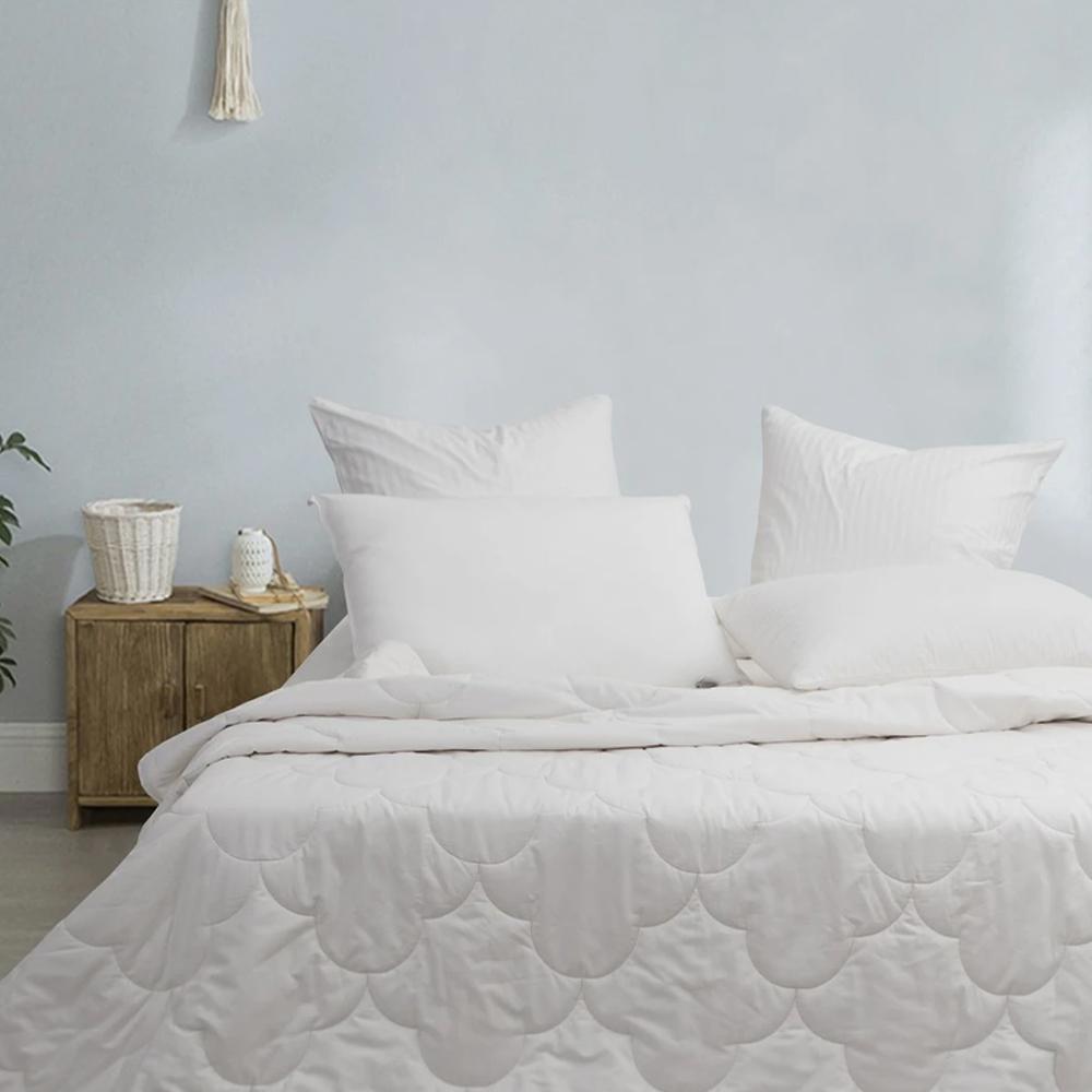 Natural Home Lightweight Summer Cotton Quilt 250gsm