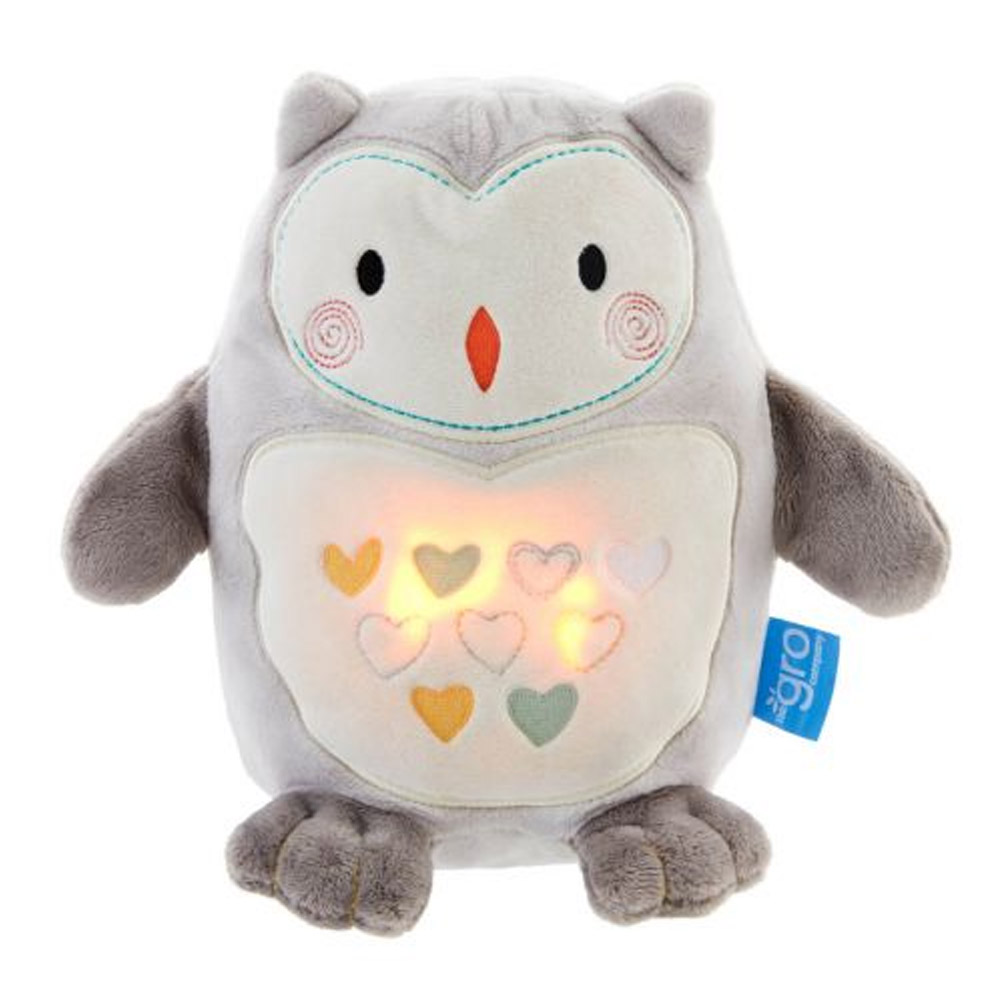 The Gro Company Ollie the Owl Sound Machine and Night Light